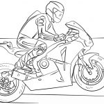 Motorcycle Coloring Pages Racing Motorcycle Coloring Page Free Printable Coloring Pages