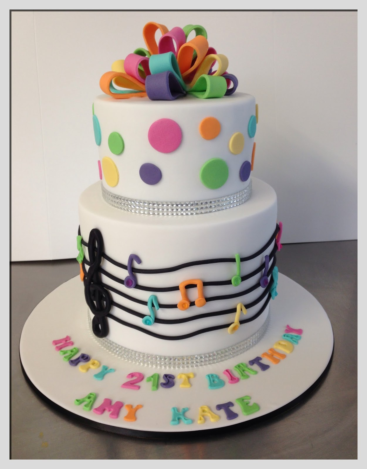 Music Birthday Cakes Birthday Cake Theme Music Naturallycurlye