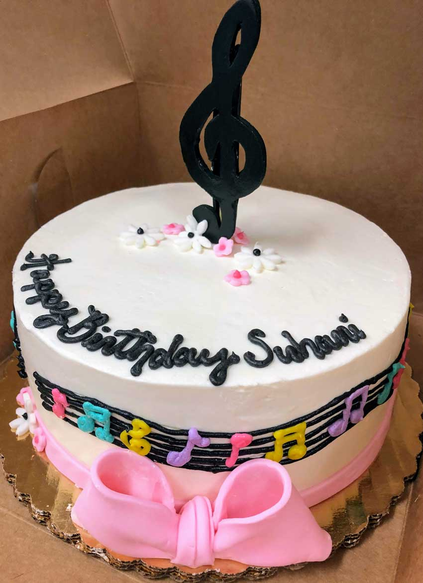 Music Birthday Cakes Birthday Cakes Celebrity Caf And Bakery