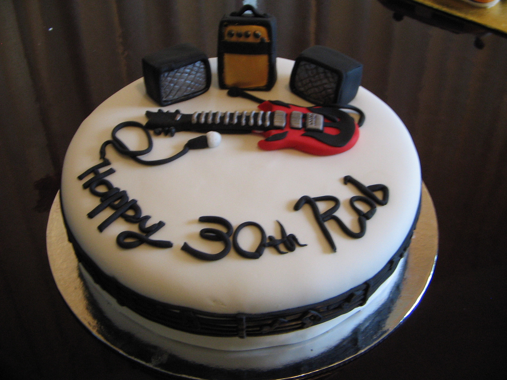 Music Birthday Cakes Music Birthday Cake A Good Friend Of Mine Asked For A Cake Flickr