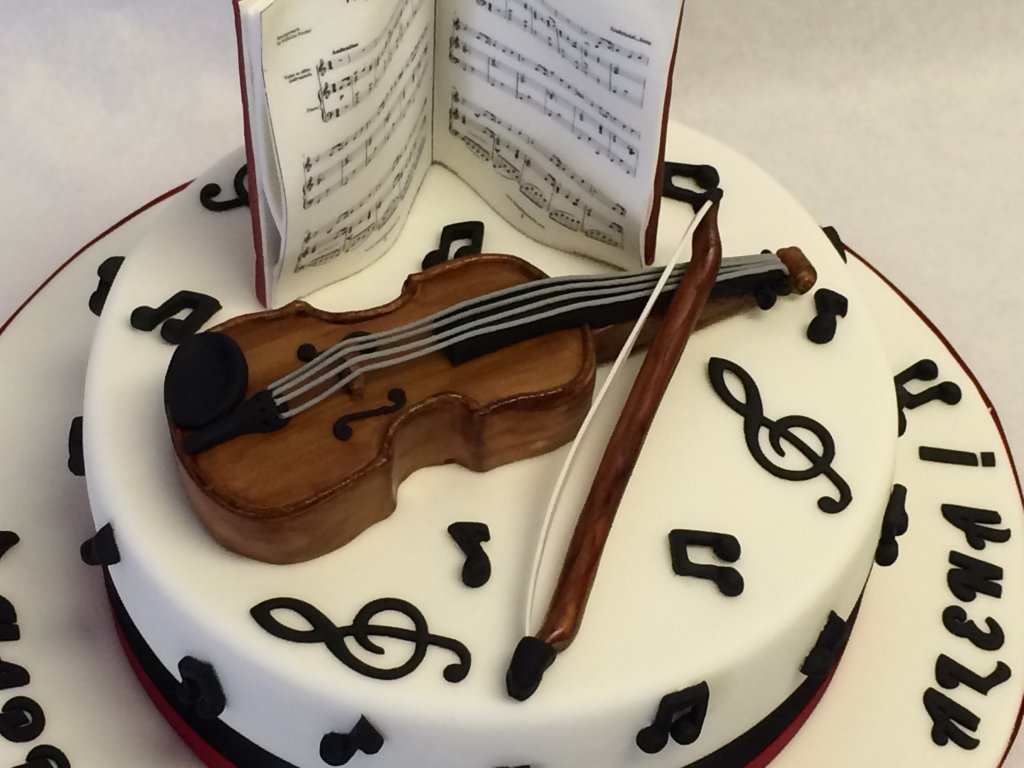 Music Birthday Cakes Music Birthday Cake Super Cool Acoustic Guitar I Made For This