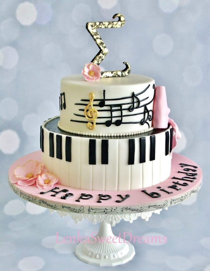 Music Birthday Cakes Piano Music Cake Cakecentral