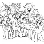 My Little Pony Coloring Pages Coloring Page Pony Coloring Pages