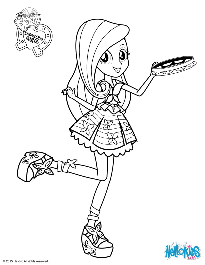 My Little Pony Coloring Pages Fluttershy Coloring Pages Hellokids