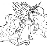 My Little Pony Coloring Pages Free Printable My Little Pony Coloring Pages For Kids Cool2bkids