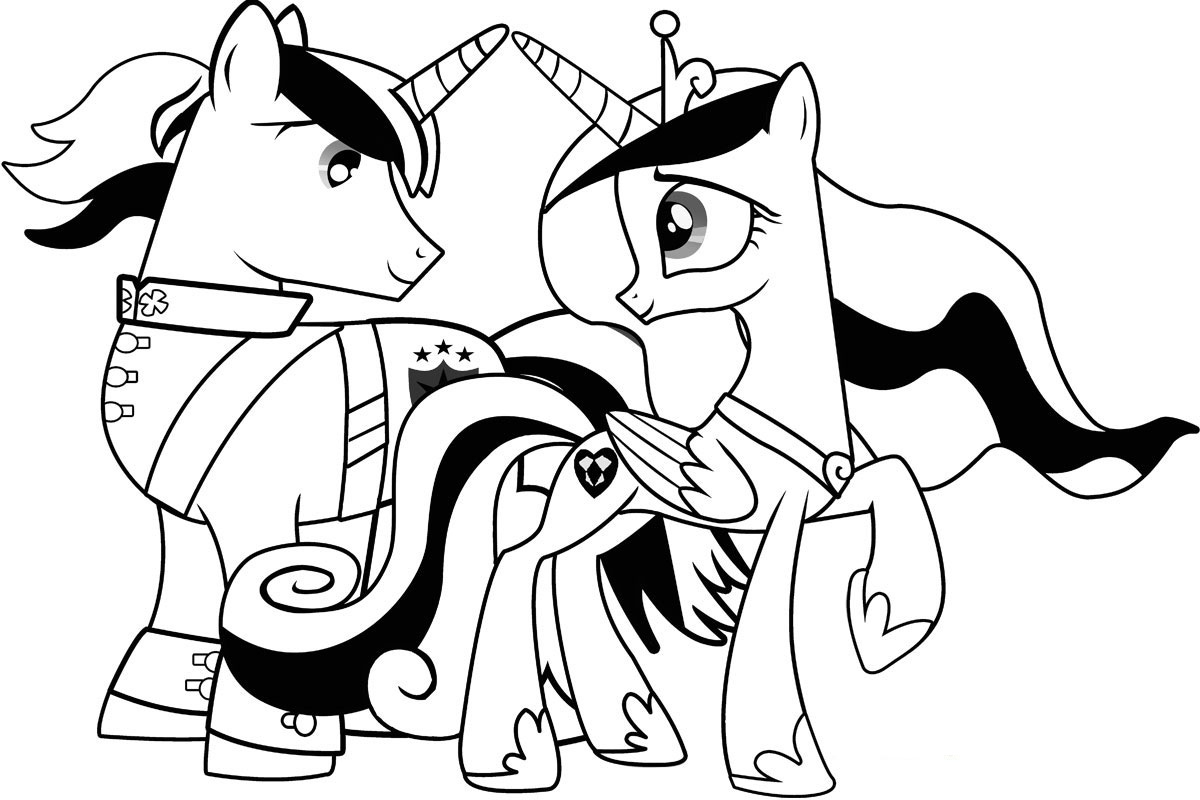 My Little Pony Coloring Pages Free Printable My Little Pony Coloring Pages For Kids