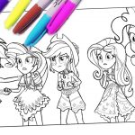 My Little Pony Coloring Pages My Little Pony Coloring Pages Mlp Coloring For Kids Equestria Girls