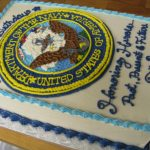 Navy Birthday Cake Its A Hoot Other Ways I Spend My Time Navy Birthday Cake