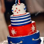 Navy Birthday Cake Navy Birthday Cake Stock Photos Navy Birthday Cake Stock Images