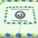Navy Birthday Cake Us Navy 242nd Birthday Cake Cutting Ceremony Youtube