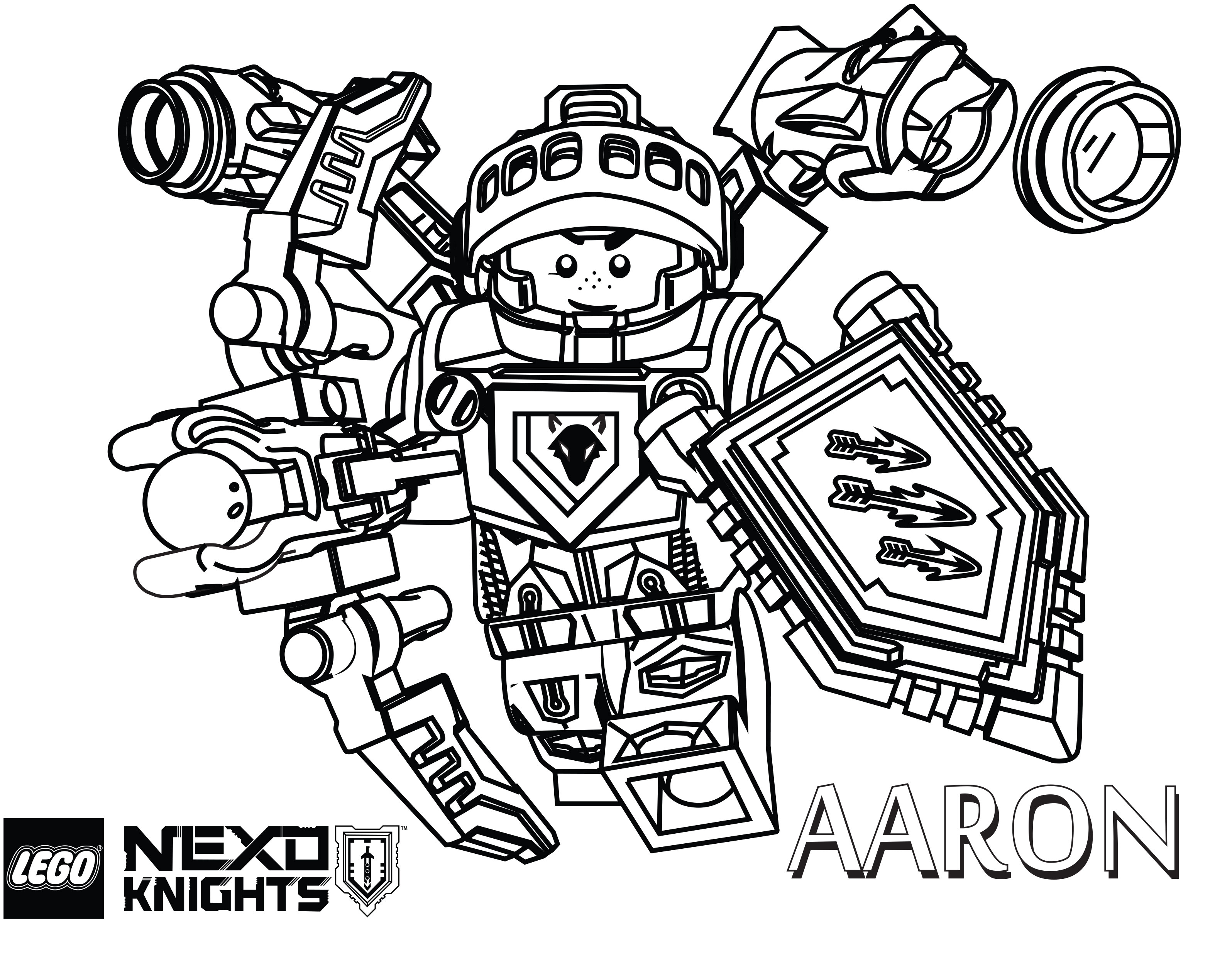 25+ Creative Image of Nexo Knights Coloring Pages