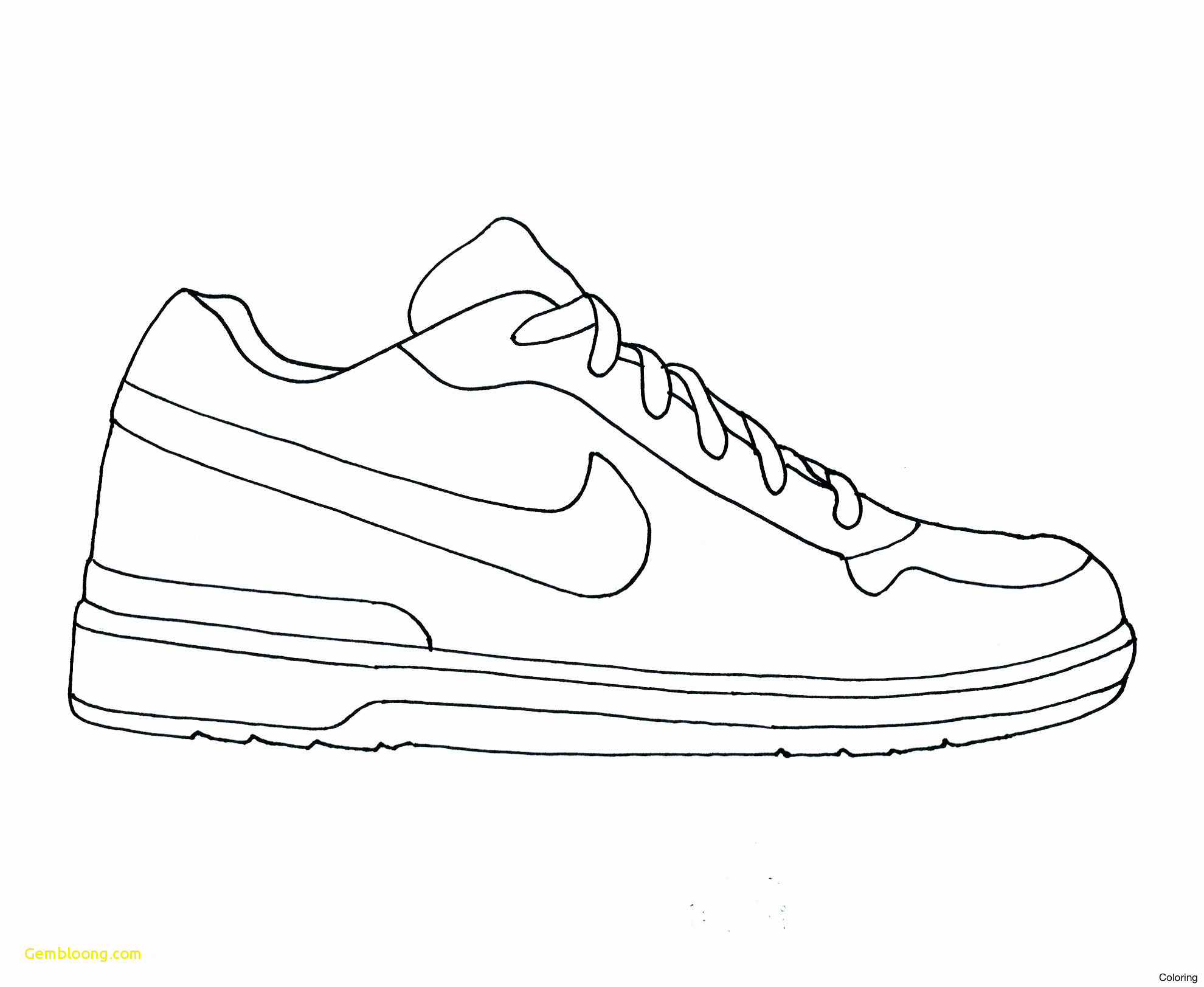 Nike Coloring Pages 24 Jordan Shoes Drawing Exotic 13 Luxury Nike Shoes Coloring Pages