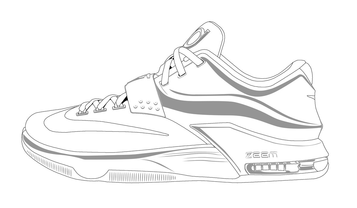 Nike Coloring Pages Kd Nike Shoes Coloring Pages 2019 Open Coloring Pages