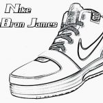 Nike Coloring Pages Lebron Shoes Coloring Pages New 39 Nike Shoes Coloring Pages