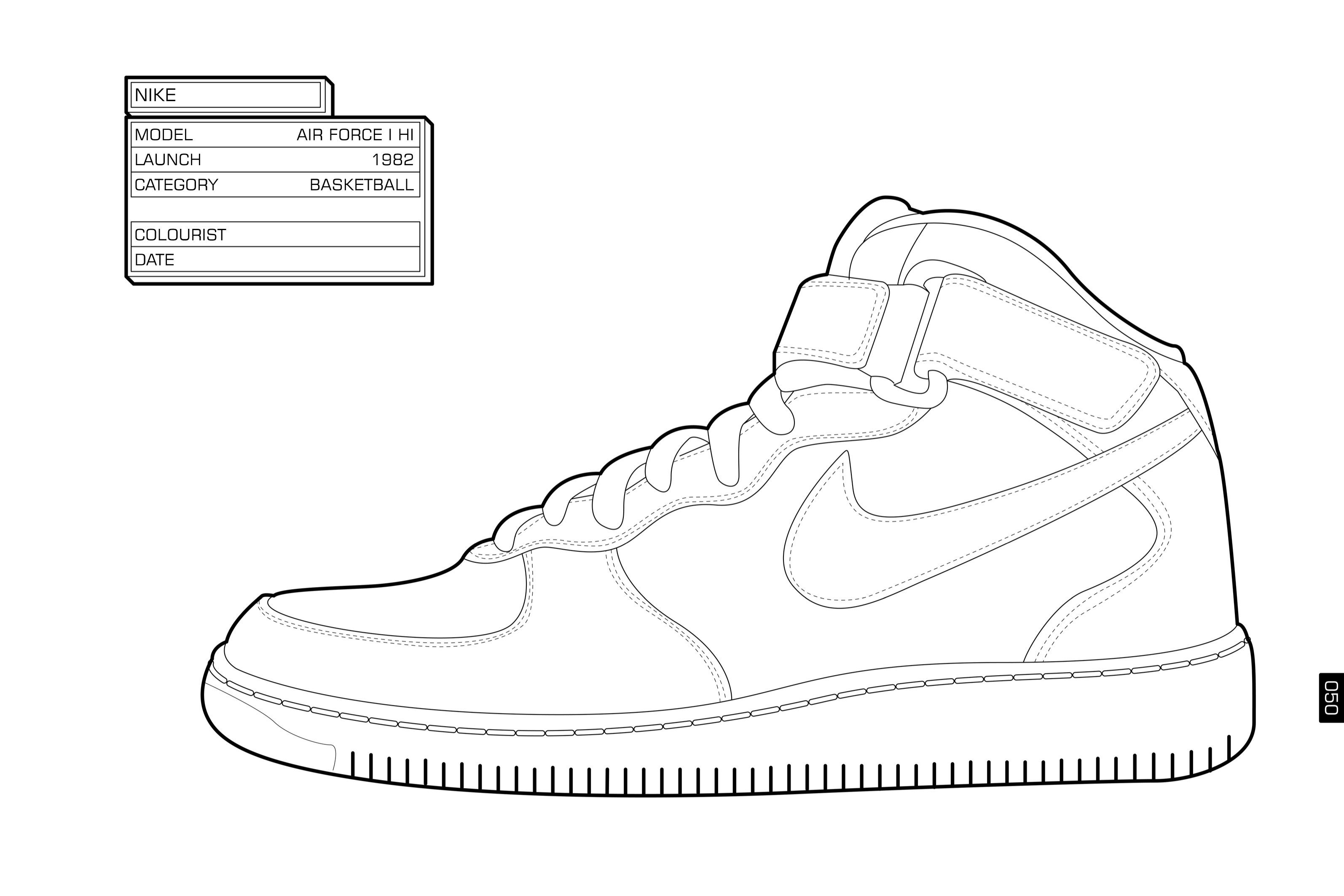 Nike Coloring Pages Nike Air Max Coloring Pages Color Bros