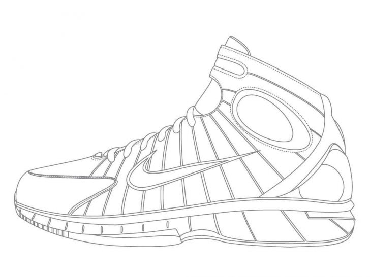 Nike Coloring Pages Nike Coloring Pages At Getdrawings Free For Personal Use Nike
