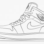Nike Coloring Pages Nike Shoes Coloring Pages Jordan Drawing Ac29cc293 Style 2018 Of Pag