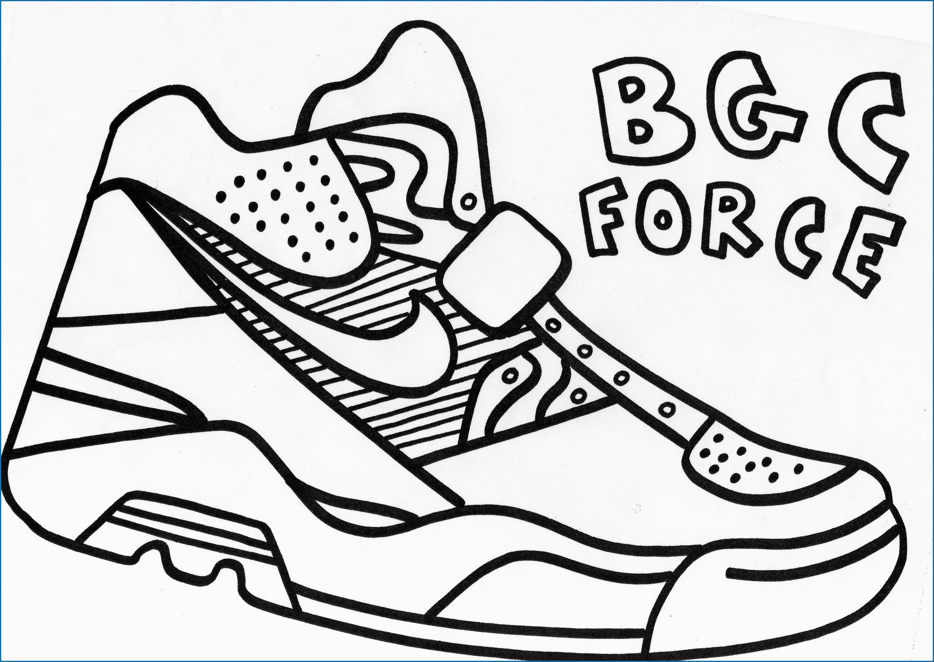 Nike Coloring Pages Outline Nike Air Logo Printable Picture Wwwgalleryneed