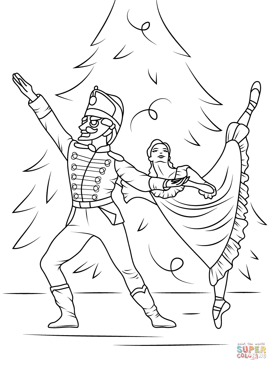 25+ Inspiration Picture of Nutcracker Coloring Pages