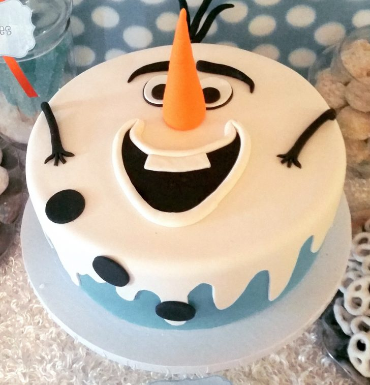 Olaf Birthday Cake Frozens Olaf Birthday Cake Pastryqueen62 Flickr