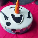 Olaf Birthday Cake Fullbloomcakes Hailey Disneys Frozen Olaf Birthday Cake Flickr