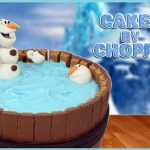 Olaf Birthday Cake How To Make Frozens Olaf Kitkat Cake Desserts Corner