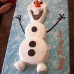Olaf Birthday Cake Ill Be A Happy Snowman Olaf Cake Birthday Ideas Cake