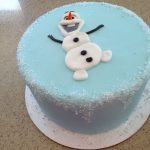 Olaf Birthday Cake Olaf Cake Frozen Cake Winter Birthday Frozen Cake Frozen Cake