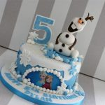 Olaf Birthday Cake Olaf Disney Frozen 5th Birthday Cake Bakealous