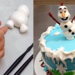 Olaf Birthday Cake Olaf Frozen Cake How To Make Cakes Stepstep Youtube