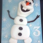 Olaf Birthday Cake Pin Jen Conway On Elizeus In 2019 Pinterest Olaf Cake Cake