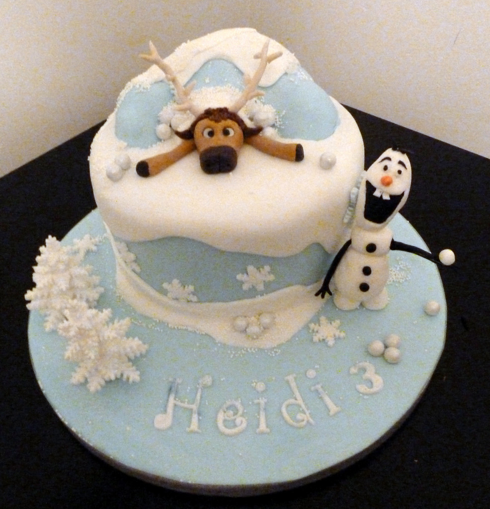 Olaf Birthday Cake Sven Olaf Frozen Birthday Cake Wedding Birthday Cakes From