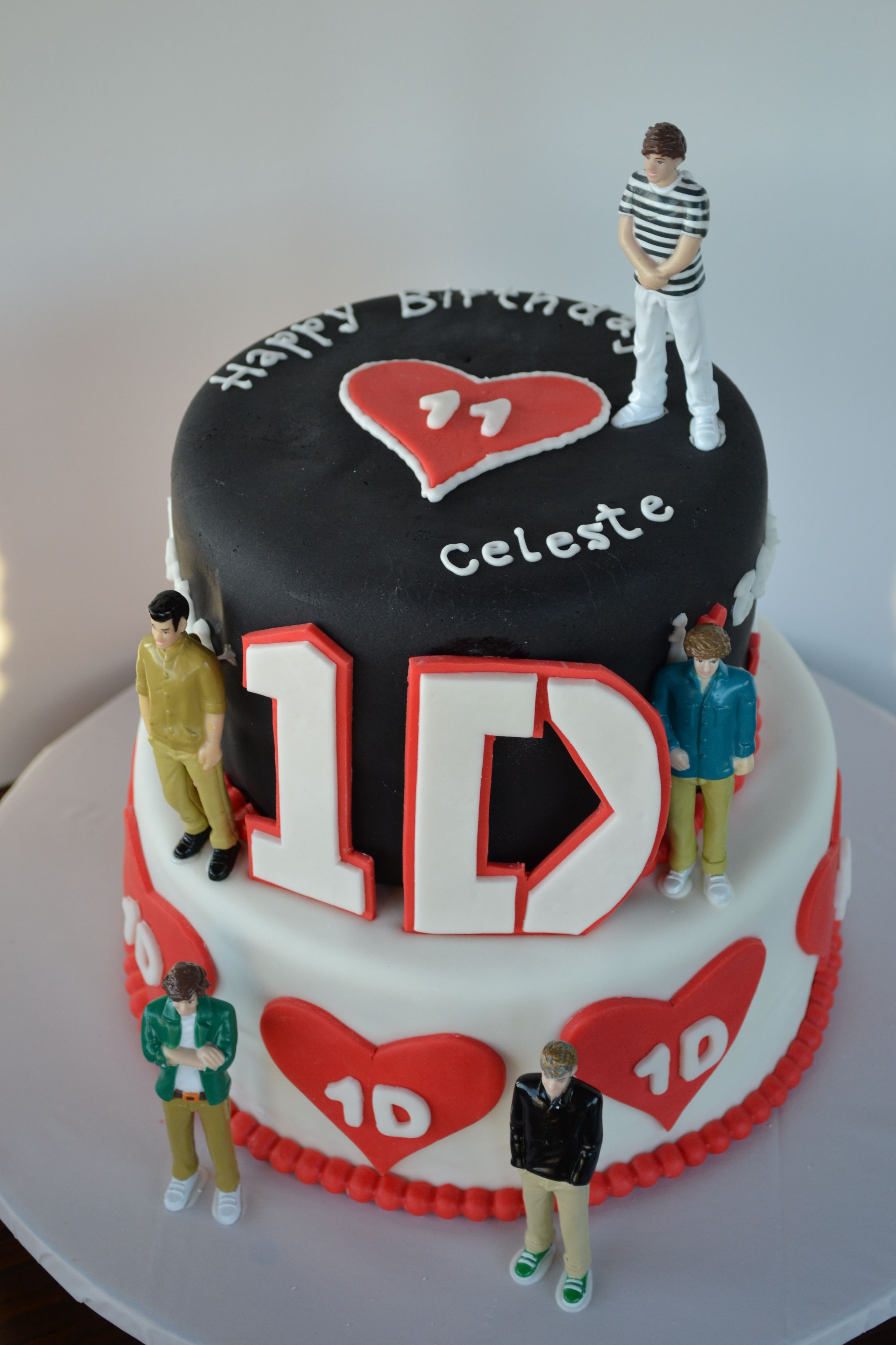 32+ Best Image of One Direction Birthday Cake