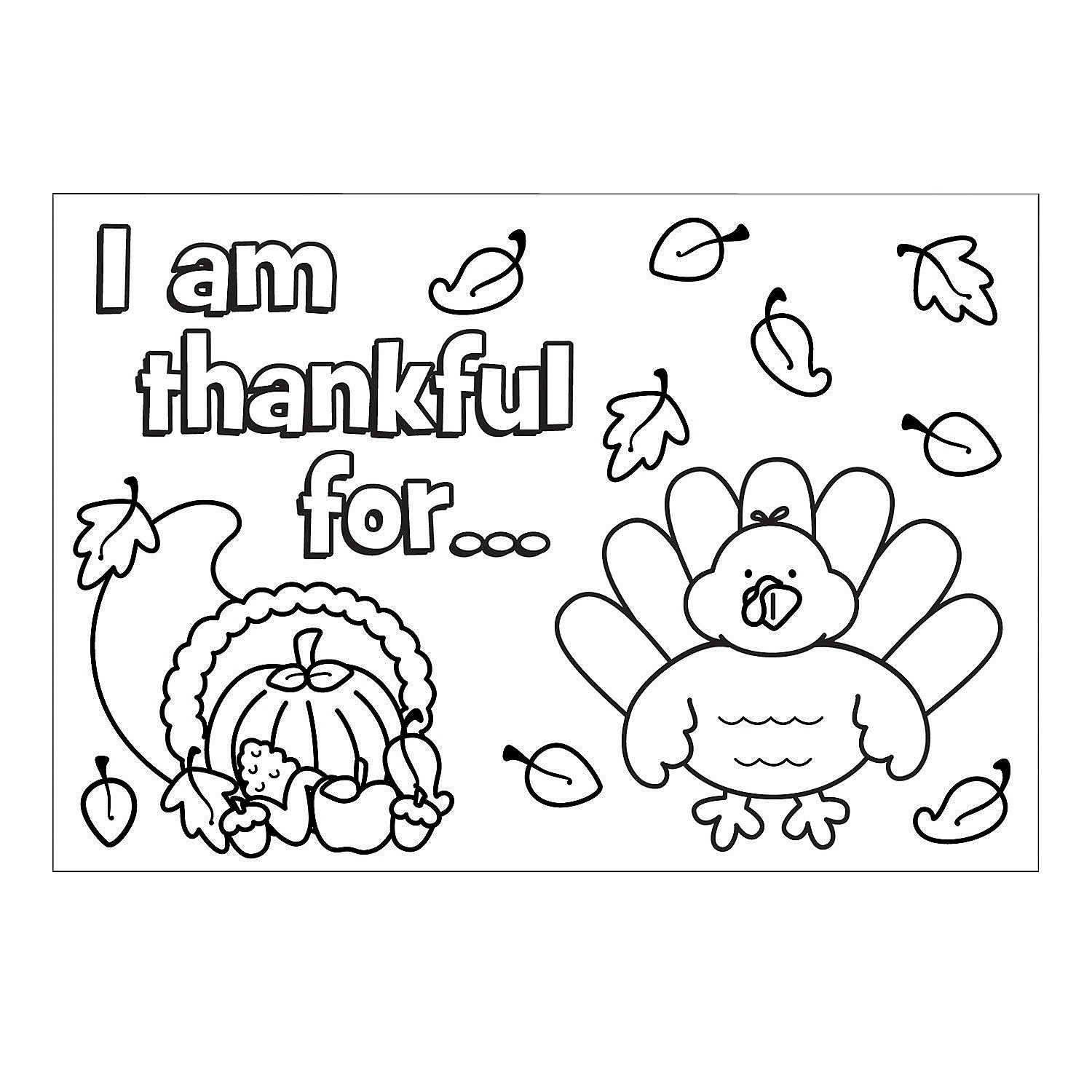 Oriental Trading Coloring Pages Thanksgiving Coloring Pages Oriental Trading Color Your Own
