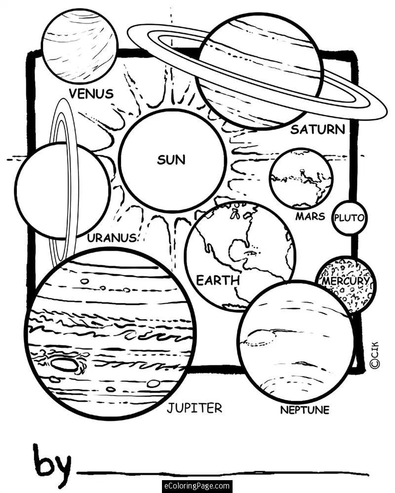 Outer Space Coloring Pages Outer Space Coloring Pages Download In Best Free Coloring Pages Site