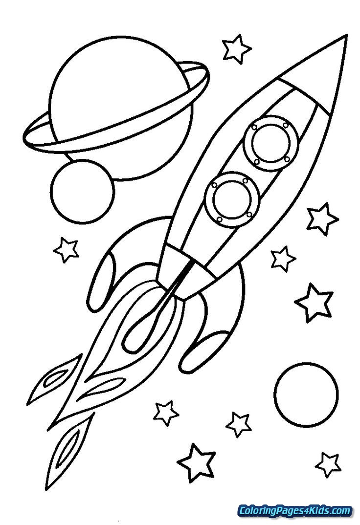 Outer Space Coloring Pages Outer Space Coloring Pages For Preschoolers Free Printable