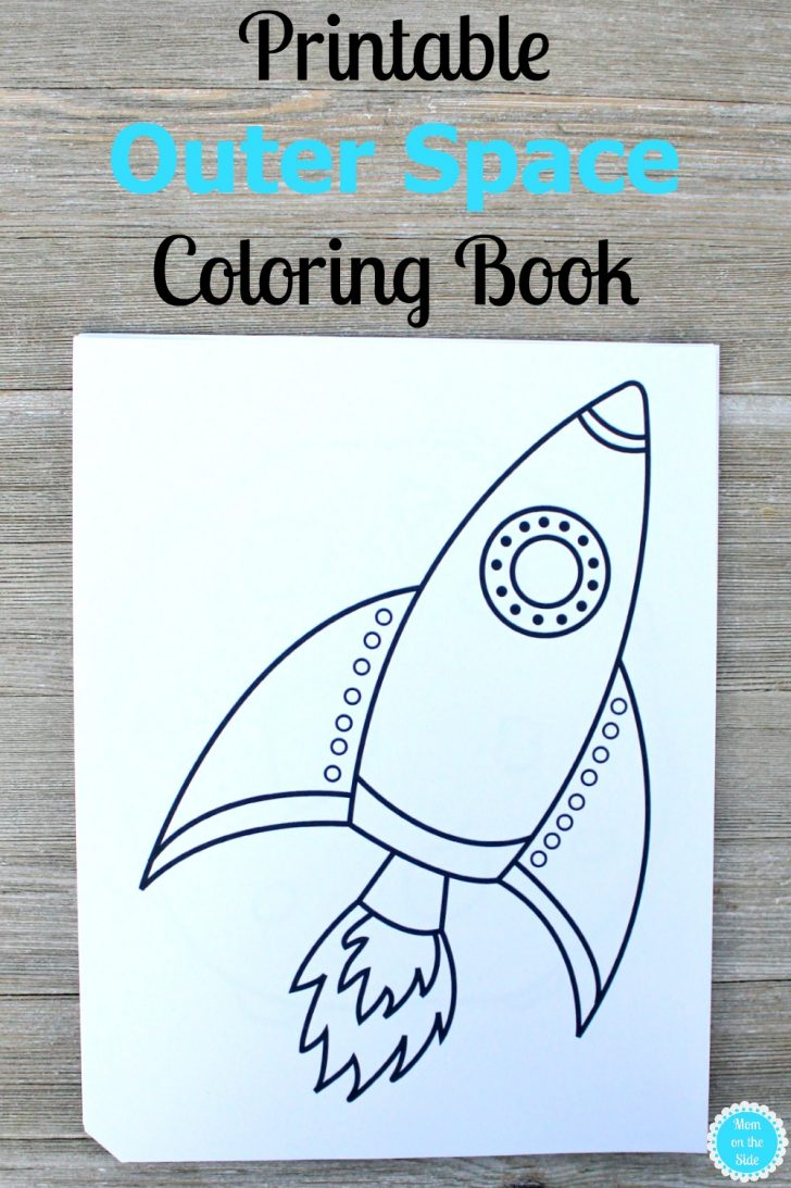 Outer Space Coloring Pages Printable Outer Space Coloring Book Mom On The Side