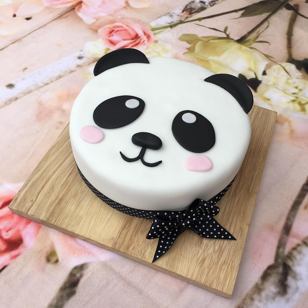 Panda Birthday Cake A Cute Panda Birthday Cake Baked With Love For My Daughters 13th