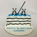 Panda Birthday Cake Online Customized Cakes Delivery I Bangalore L Theme Cakes L Miras