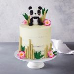 Panda Birthday Cake Panda Bear Birthday Cake