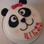 Panda Birthday Cake Panda Birthday Cake And Cupcakes Boutique Cake Shop