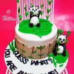 Panda Birthday Cake Panda Birthday Cake Customized Cakes In Lahore