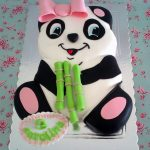 Panda Birthday Cake Panda Cake To Cute Ba Pinterest Panda Cakes Cake And