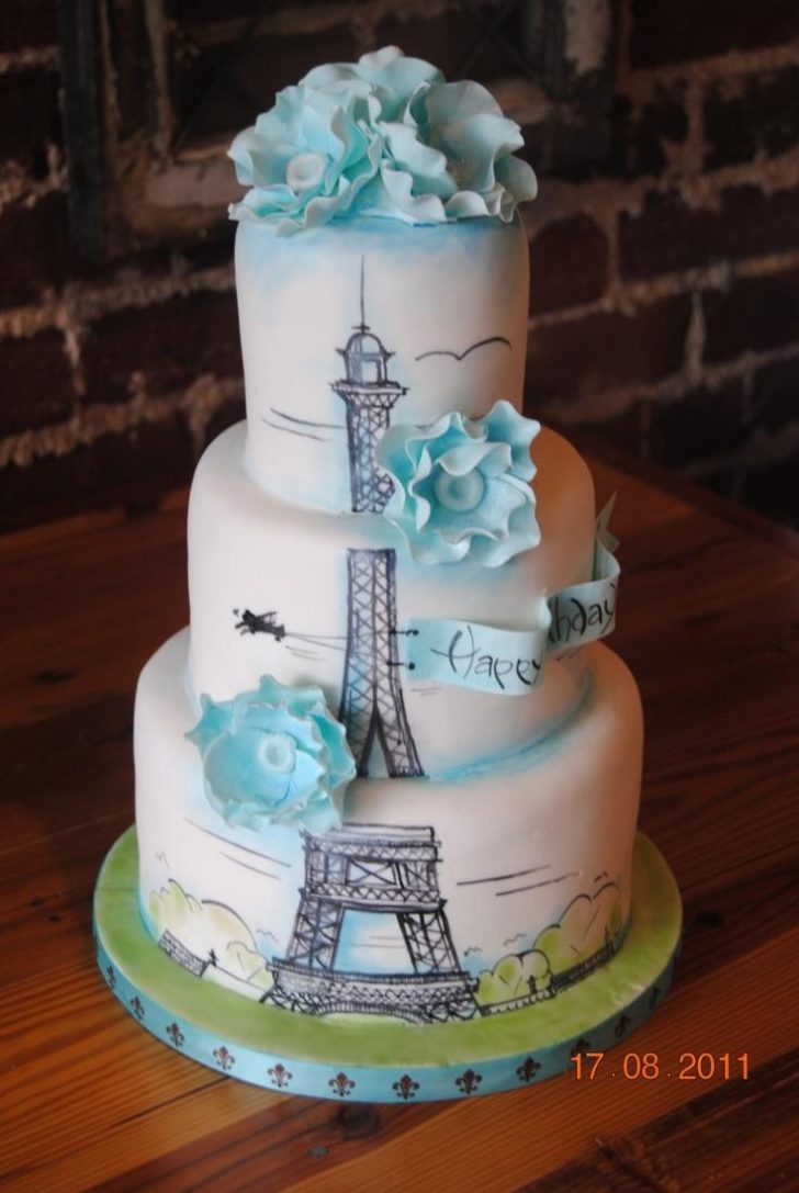 Paris Birthday Cake Hochzeits Thema Paris Birthday Cake Birthday Cakes 2351363