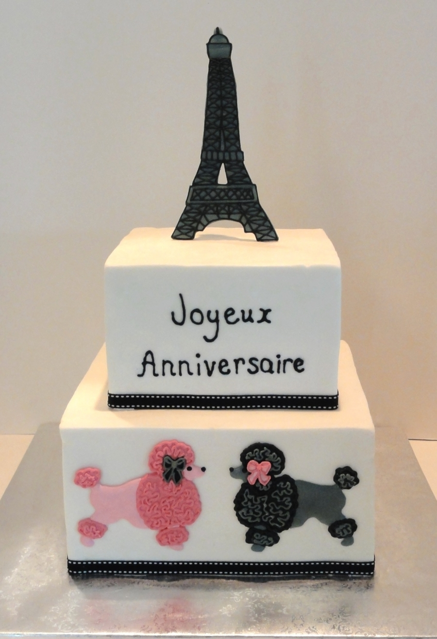 Paris Birthday Cake Paris Birthday Cake Cakecentral