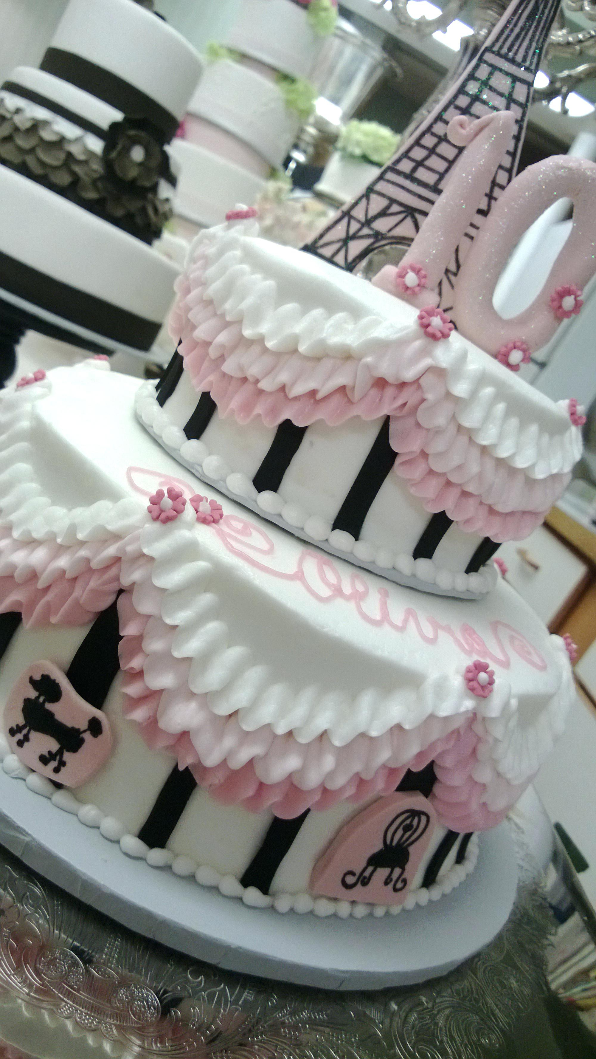 Paris Birthday Cake Paris Birthday Cake Ideas Betseyjohnsonshoes