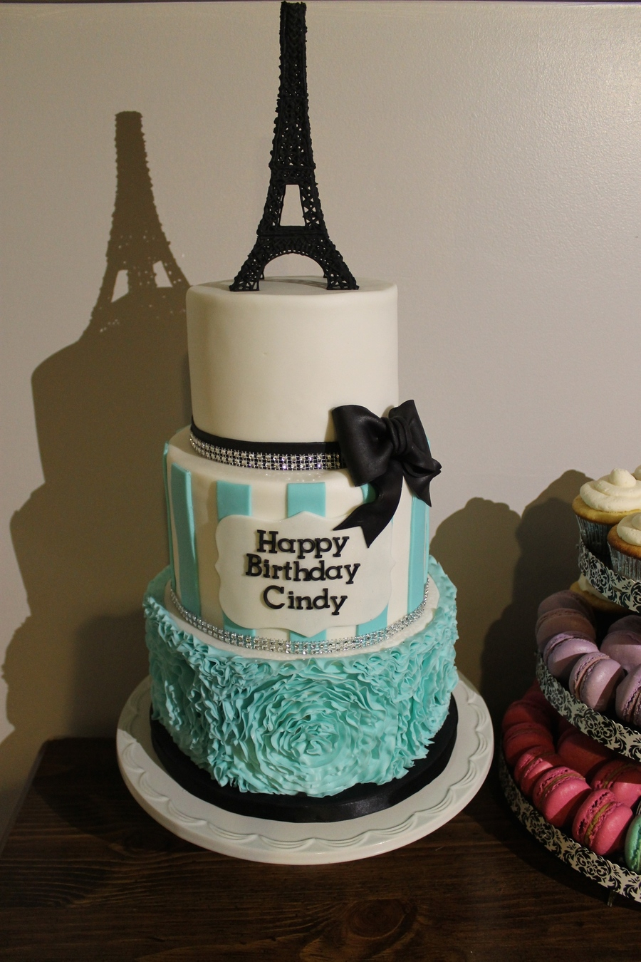 Paris Birthday Cake Paris Themed Birthday Cake Cakecentral