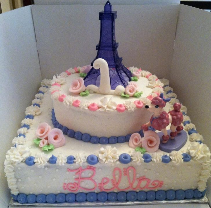 Paris Birthday Cake Sweet Treats Susan Pink Poodle In Paris Birthday Party