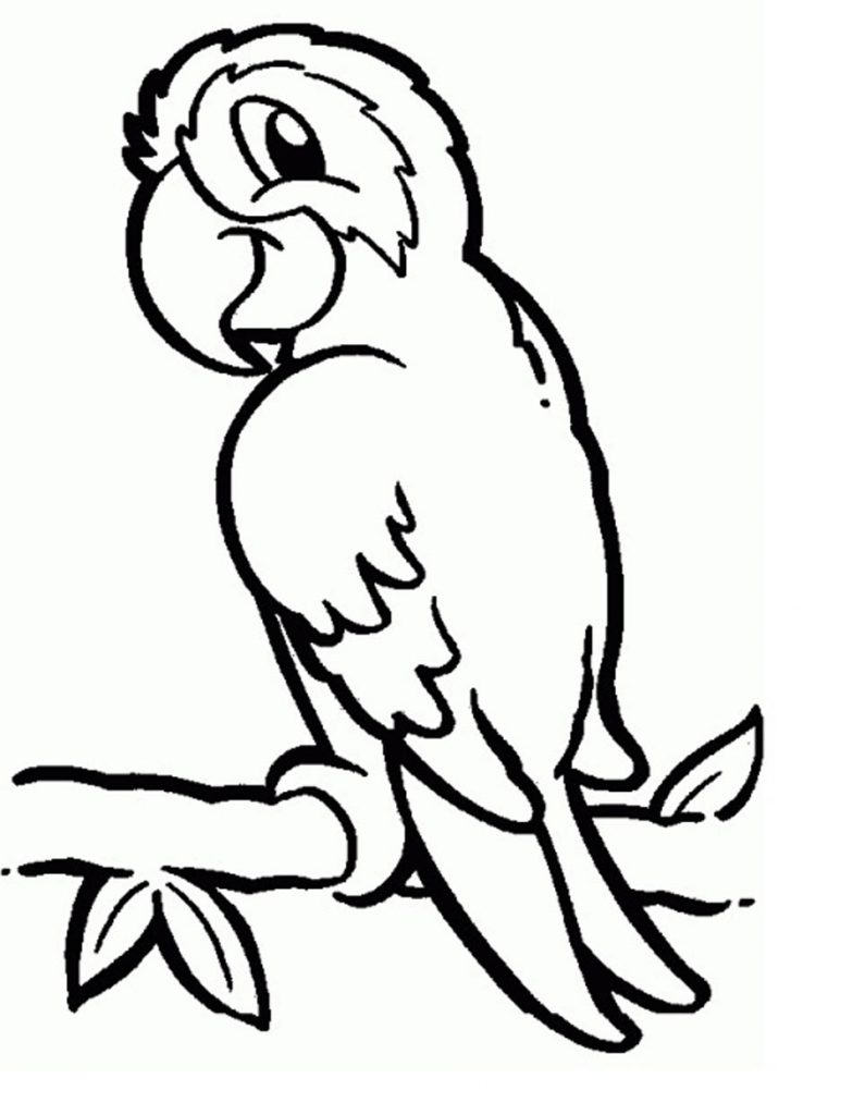 Parrot Coloring Pages Parrot Coloring Pages Coloring Pages