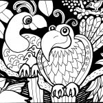 Parrot Coloring Pages Parrots Coloring Pages Parrot Valid For Adults Euro 29092083